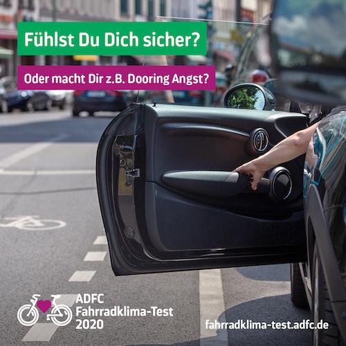 ADFC Fahrradklima-Test – Noch bis 30. Nov. mitmachen!
